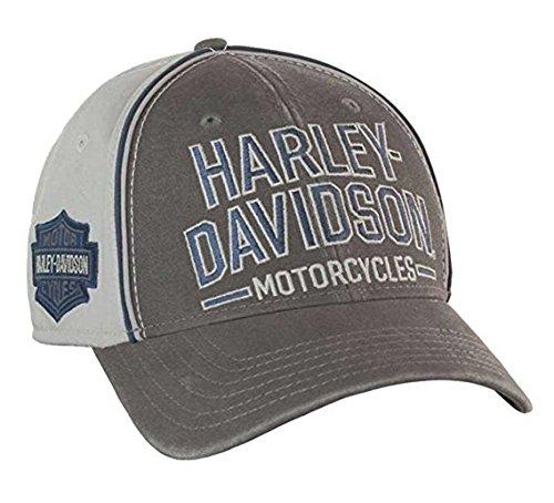 harley-davidson-mens-baseball-cap-embroidered-bar-shield-stretch-fit-bc51670