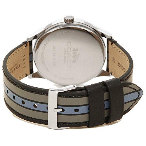 ecb1e8fe9415 Amazon   [コーチ] 腕時計 メンズ アウトレット COACH W1545 D9B シルバー ブラック グレー [並行輸入品]    並行輸入品・逆輸入品・中古品(メンズ)   腕時計 通販