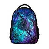 SARA NELL Kids School Bag Forest Tree Galaxy Universe at Amazon