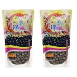 Wufuyuan - Tapioca Pearl (Black) - Net Wt. 8.8 Oz. (Pack of 2)