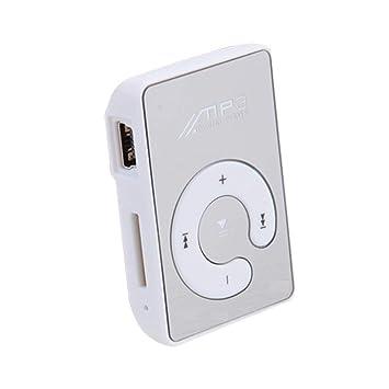 Mini Clip portátil USB Reproductor de MP3 Soporte para Medios Musicales Tarjeta Micro SD TF Moda de Alta fidelidad MP3 para Deportes al Aire ...
