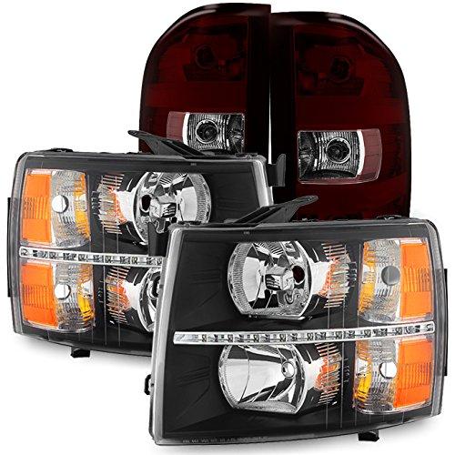 09 silverado smoked taillights - 5