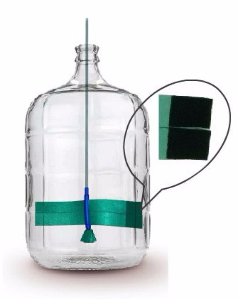 Clean Bottle Express¨ Carboy Scrubber by Clean Bottle Express