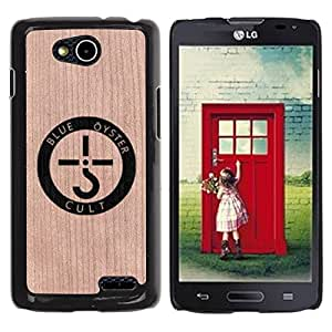 - Band Oyster Music Art Logo - - Funda Delgada Cubierta Case Cover de Madera FOR Series III L90 BullDog Case