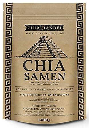 Semillas de Chia 1 kg ⭐ Alta en proteínas ⭐ Apto para Veganos