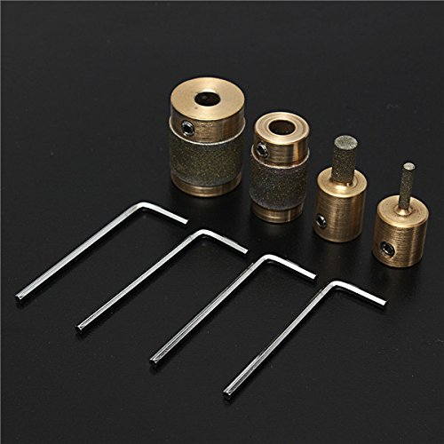 Useful Tools Grinding Bits Set 4pcs MCB18 MCB14 MCB1 MCB34 Grinding Machine Grinder Head