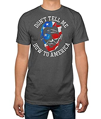 Abraham Lincoln Don't Tell Me How to America Mens T-shirt
