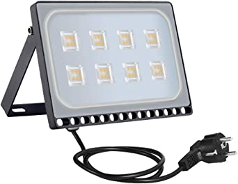 50w Foco Proyector LED Ultra Plano, SMD2835 de LED Bombillas de ...