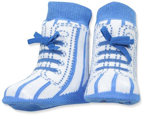 Trumpette Baby Boys' Socks-1 Pair, My My Little Slugger - Blue, 0-12 Months