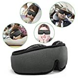 HOMMINI Sleep Mask 3D Modular Eye Mask for Sleeping