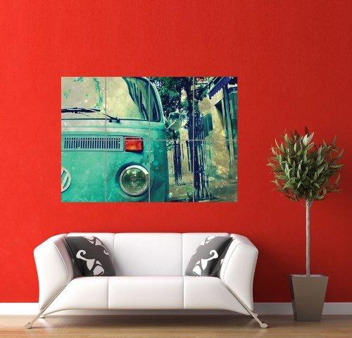 VOLKSWAGEN VW VAN GIANT PANEL POSTER ART PRINT PICTURE PR253