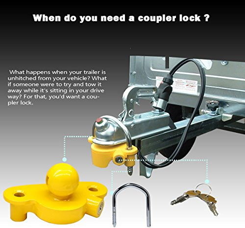 Buy trailer hitch security lock