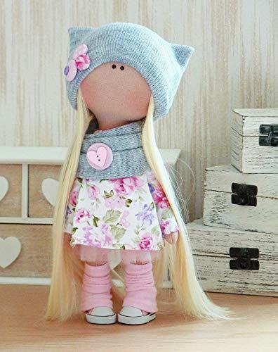 Doll Textile Rag Doll Handmade doll Textile doll