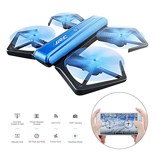 Toys for Boys, M SANMERSEN Foldable Drone with Camera Selfie Drone with WIFI Drone for Beginners Kids Gifts for Boys Girls Kids Toys for teen boys