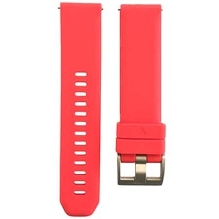 perfk 1 Pieza Correa de Silicona de 20mm Conecta con Garmin ...
