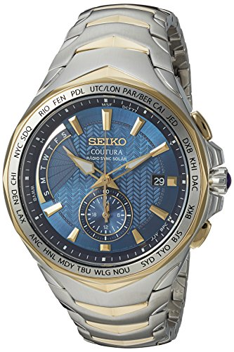Seiko Men's SSG020 COUTURA Analog Display Japanese Quartz Two Tone Watch