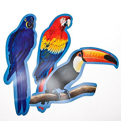 Tropical Bird Cut Out - 5