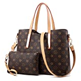 ZUNIYAMAMA Waterproof Scratch Resistant Synthetic Leather Lady Top Handle Handbags Set for Women Purses Shoulder Bag...