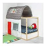 dark grey curtains ikea IKEA ASIA KURA Bed Tent with Curtain Grey White
