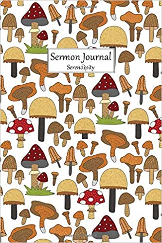 Sermon Journal Serendipity: Medium Size Church Sermon