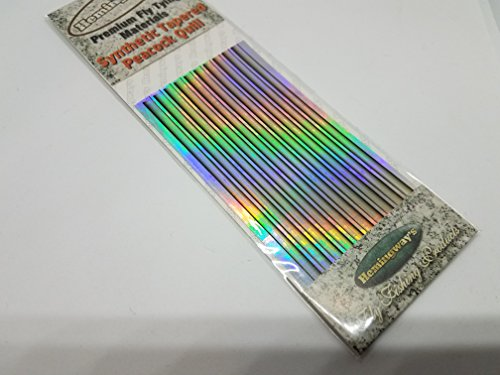 Hemingway's Synthetic Tapered Holo Quills- Natural