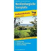 Mecklenburgische Seenplatte: Radkarte mit Ausflugszielen, Einkehr- & Freizeittipps, wetterfest, reissfest, abwischbar, GPS-genau. 1:100000 (Radkarte/RK)