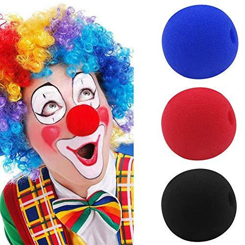 bromrefulgenc Funny Clown Nose,5/10/50Pcs 5cm Soft Sponge Clown