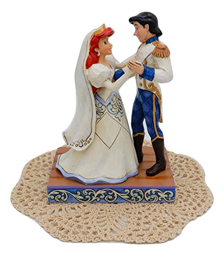 Disney Traditions Royal Wedding collection with Westbraid Doily (Wedded Bliss (Ariel & Prince Eric)) Joseph Prince 2017 Christmas