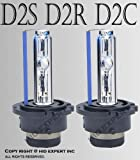 8000K D2R D2C D2S Xenon OEM FACTORY HID ICY BLUE Bulbs