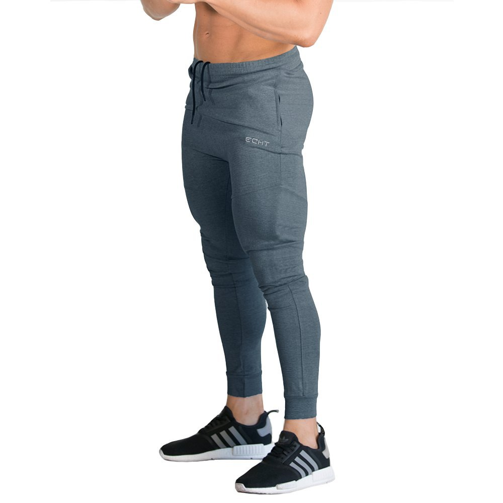 Tapered Joggers Charcoal V2 Men Pants Gym Wear Sweat Trousers Slim Fit Bottoms