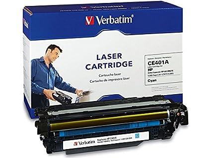 Verbatim Remanufactured Toner Cartridge Replacement for HP CE401A (Cyan)