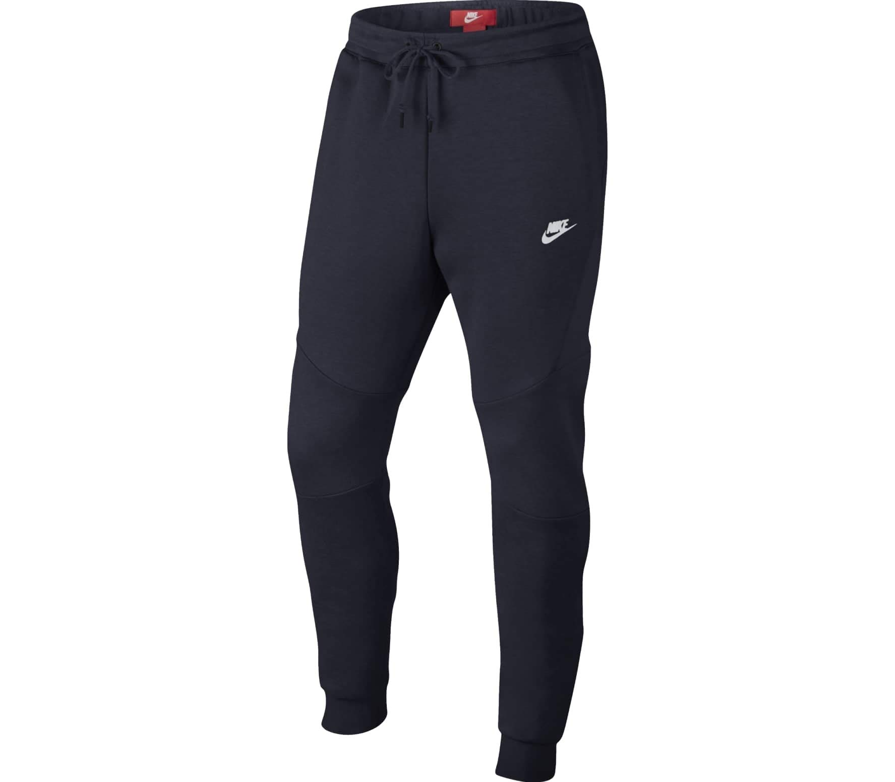 Nike Mens Sportswear Tech Fleece Jogger Sweatpants Obsidian Blue/White 805162-455 Size Small