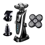 Braun Series 3 Made In China - 3 In1 Multifunctio Rechargeable Electric Shaver 5 Blade Washabl Electric Shaving Razors 5D Floating 5886 and cutter head
