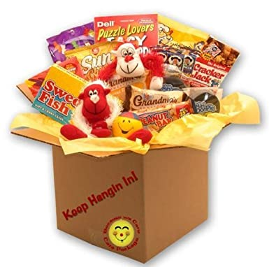 Gift Basket Drop Shipping Keep Hangin In There Care Package by Gift Basket Dropshipping: Amazon.co.uk: Grocery