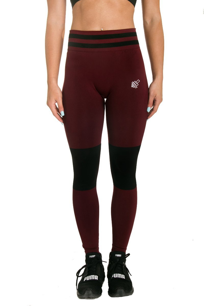 Jed North Women's Seamless Athletic Gym Fitness Workout Leggings WOMBTM007P