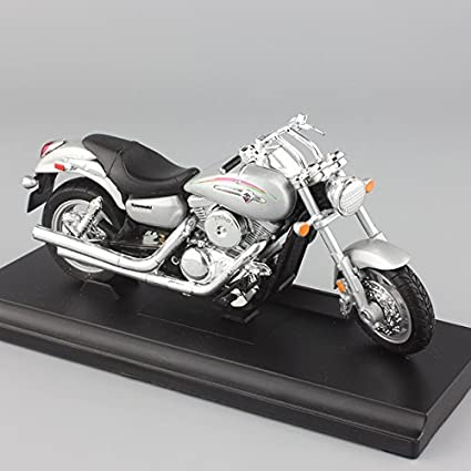 Buy Kawasaki Vulcan 1500 118 Scale Welly Lds 2002 Mean Streak Motorcycle Motorbikes Metal Tank Mini Model Diecast Kids Toys Online