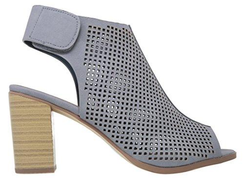 Du Heel Classified Straps Ankle Roadway Women's City blu xq8p7wzx