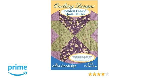 Amazon Anita Goodesign Folded Fabric Quilt Blocks