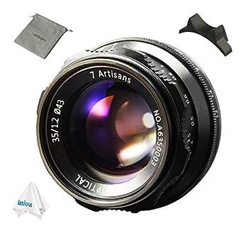 Image of 7artisans 35mm F1.2 APS-C Manual Focus Lens for Sony E Mount Camera A7, A7II, A7R, A7RII, A7S, A7SII, A6500, A6300, A6000, A5100, A5000, NEX-3 Lenses