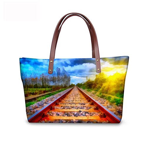 Fruit Women C8wc0155al Bages Casual Print Handbags FancyPrint Tote OxgwH7q7