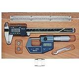 Mitutoyo 950-940-9, Digimatic Tool Kit, IP 65 0-1 Digimatic micrometer, 6 Digimatic caliper