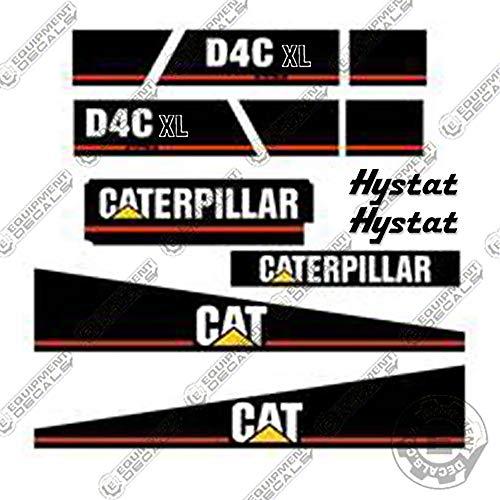 Caterpillar D4C XL Series 3 Decal Kit Dozer