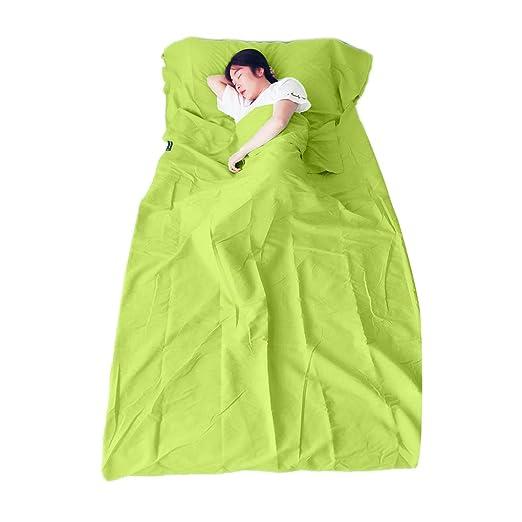 Bomcomi - Saco de Dormir Plegable para Acampada o Acampada ...