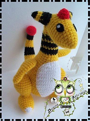 POKEMON AMIGURUMI PERSONALIZABLE (Bebé, crochet, ganchillo, muñeco, peluche, niño,