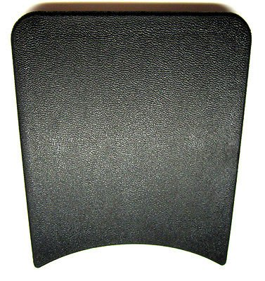 Trans Am Console - The Parts Place Firebird & Trans Am Rear Console Rear Cover - Black