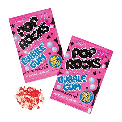Pop Rocks Bubble Gum Hard Candy