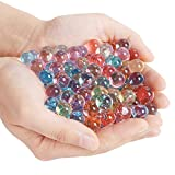 NextX Water Beads Crystal Soil Rainbow Color Mix for Kids Tactile Sensory Experience, Wedding Centerpiece Vase Filler, Plant decoration - 25,000 Beads