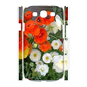 Creative Phone Case Ranunculus asiaticus For Samsung Galaxy S3 I9300 H568363