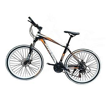 "6699e1ec3ce Panana 26"" mountain aluminum bike bicycle wheels alloy frame (Orange)"