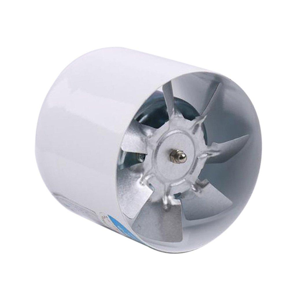 MagiDeal Ventilatore In Linea Idroponico Raffreddato Ad Aria Di Sfiato Della Ventola Da 100 Mm 4